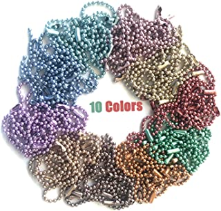 Best colored ball chain wholesale Reviews