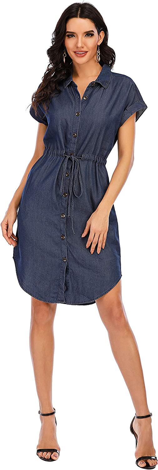Love Welove Fashion Women's Summer Max 56% OFF Denim K Special Campaign Short Sleeves Batwing