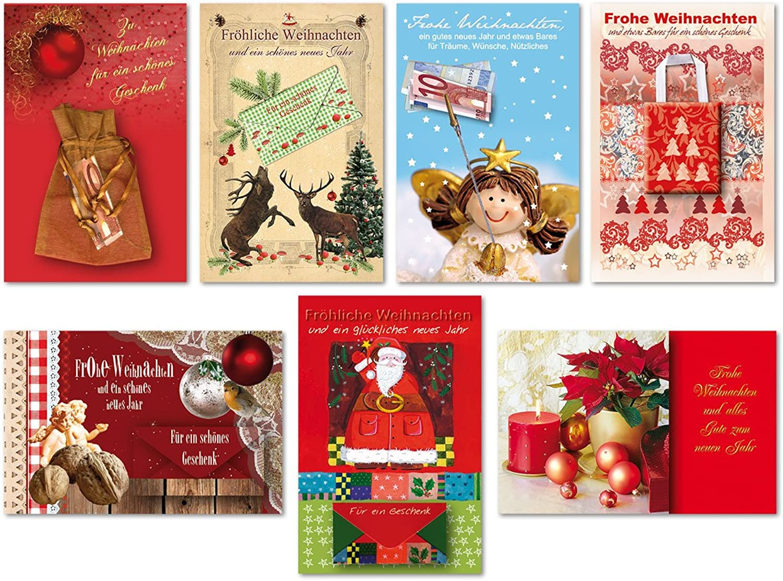 35 Grußkarten hochwertige Weihnachtskarten Weihnachten Geld Karte B077HRBF2Q   | Abgabepreis
