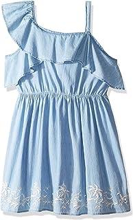 Lucky Brand Girls' Cold Shoulder Dress