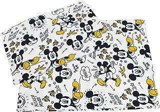 Tina Codazzo Home Baby Set Lenzuola Disney Topolino giallo e nero