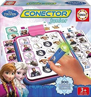Educa Borrás Frozen - Conector Junior, Juego Educativo 16256