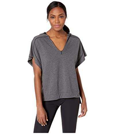 Smartwool Active Reset Hooded Pullover (Charcoal) Women