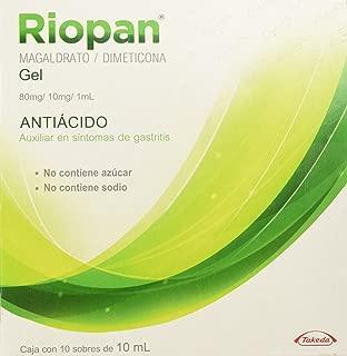 Riopan Gel, 10 ml, 10 Sobres