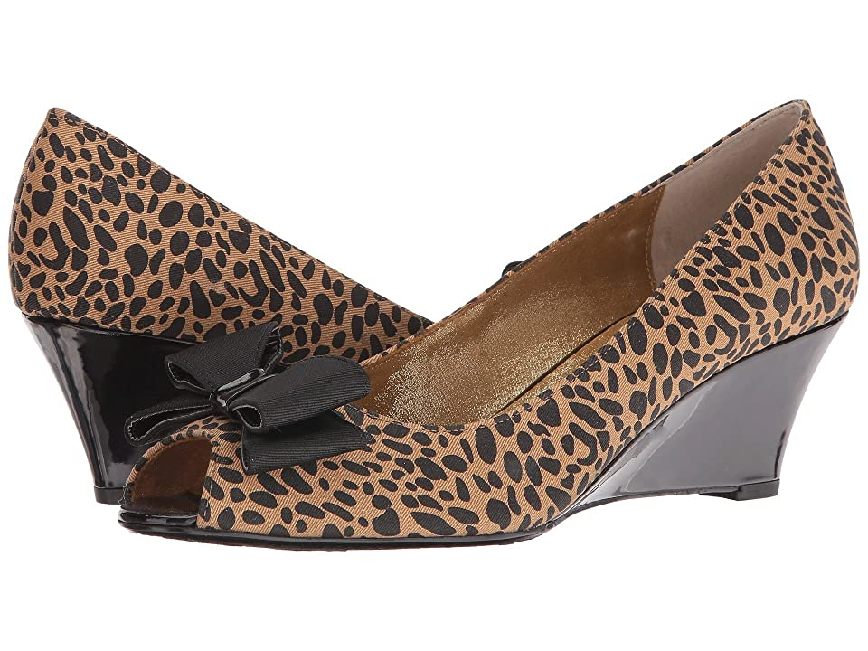 J. Renee Blare (Black/Brown) High Heels