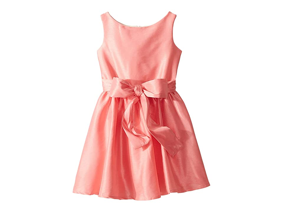 fiveloaves twofish Tiffany Party Dress (Toddler/Little Kids/Big Kids) (Coral) Girl
