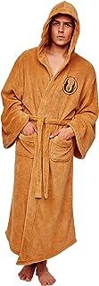 Official Star Wars Jedi Fleece Men's Brown Premium Luxury Bathrobe