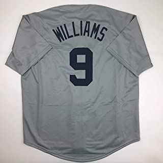 Unsigned Ted Williams Boston Grey Custom Stitched Baseball Jersey Size Men's XL New No Brands/Logos