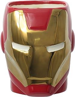 Marvel Iron Man Super Hero Mug,Multi-colored