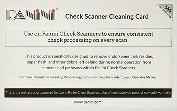 Sheet Fed Scanner Cleaning Card Featuring Waffletechnology 15 15 Sheets