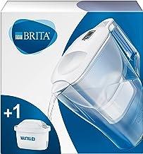 BRITA waterfilterkan Aluna verbetert de smaak en vermindert kalk en andere onzuiverheden uit kraanwater, wit, 2,4L
