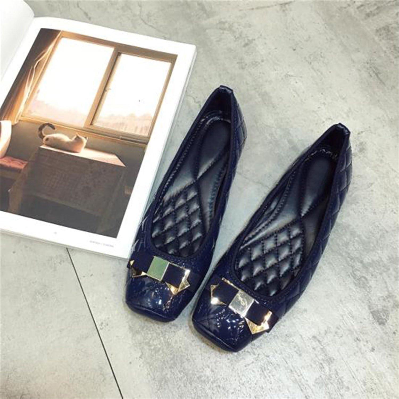 Henraly Women Brand Flat shoes Women's Flats Ladies Brand Boat shoes Plus Size 42 YX095