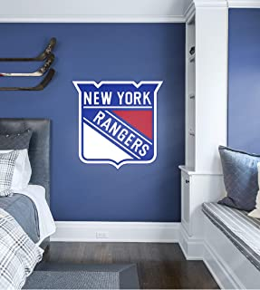 FATHEAD NHL New York Rangers - Logo- Officially Licensed Removable Wall Decal