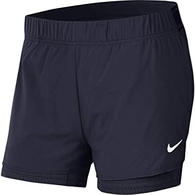 Nike Flex Shorts (Obsidian/White) Women