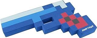 8 Bit Pixelated Blue Diamond Foam Gun Toy 10