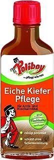 Poliboy - Eiche Kiefer Pflege - reinigt, pflegt und schützt - Spezialpflege für groß- und offenporige Hölzer - 100 ml - Made in Germany