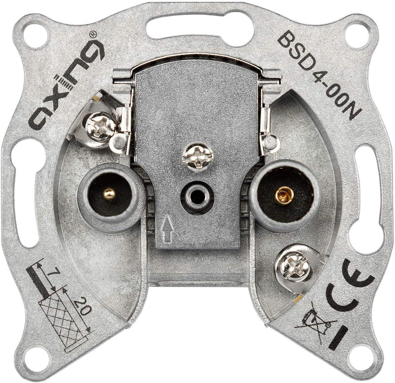 Axing Bsd 4 00n Einzeldose Stichleitungsdose Catv Elektronik