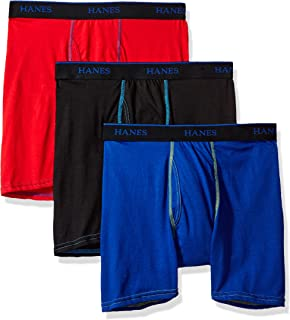 Hanes Boys' 3-Pack Ultimate X-Temp Boxer Brief