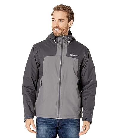 Columbia Top Pinetm Insulated Rain Jacket (Shark/City Grey) Men