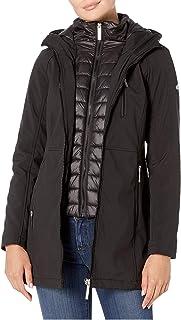 Calvin Klein Softshell Jacket with Packable Bib Insert