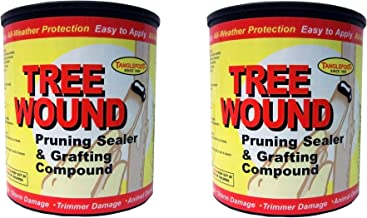 Ortho Tanglefoot Tree Wound Pruning Sealer & Grafting Compound 16 OZ - 2 Pack