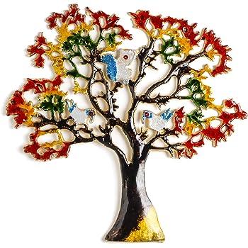 Angelic Copper Aluminium Tree Medium (32 cm x 1 cm x 32 cm)