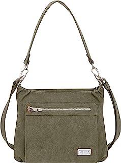 Anti-Theft Heritage Hobo Bag, Sage, 11.5 X 9.5 X 3