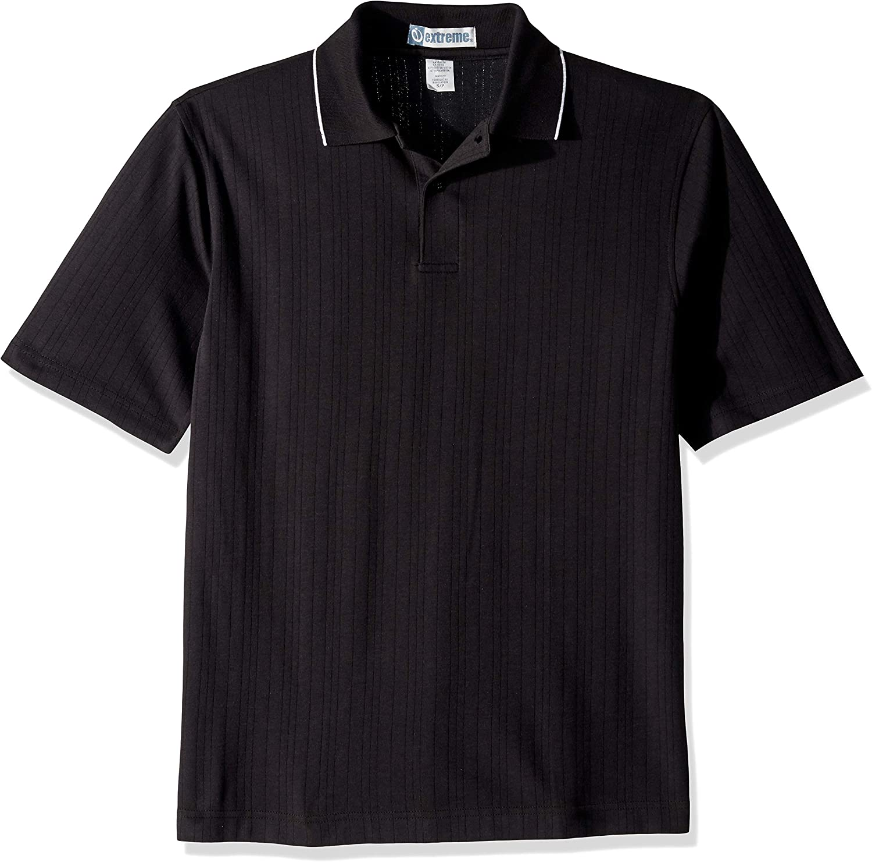 Ashe Xtream Men's Edry Needle Out Interlock Short Sleeve Polo Shirt