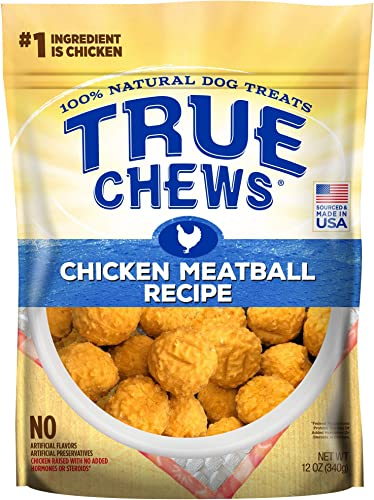 2021 True Chews Natural Dog high quality Treats Meatball online Recipe online