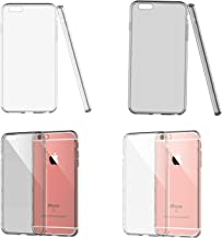 iSKYS Slim Fit Soft TPU Crystal Clear Case for Apple iPhone 6 / 6S – 4 Pack