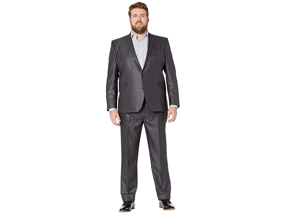 Kenneth Cole Reaction - Kenneth Cole Reaction Big Tall Techni-Cole Open Bottom Suits