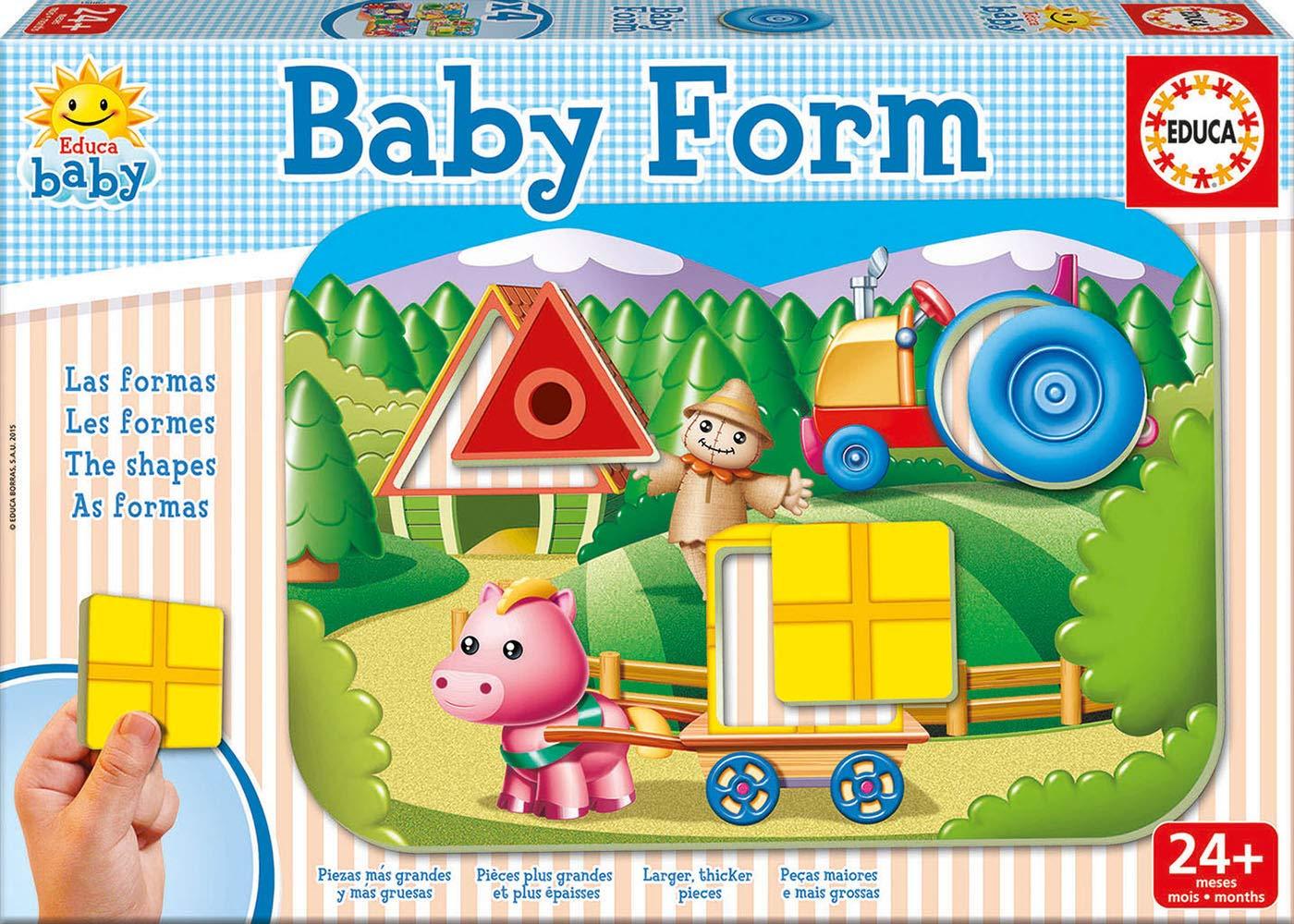 Educa Borrás - Baby Formas, Juego de Mesa (15862): Amazon.es: Juguetes y juegos
