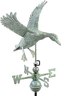 Good Directions Landing Duck Weathervane, Blue Verde Copper