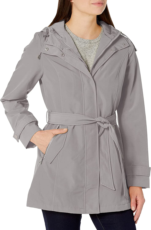 Ranking TOP12 Nautica Women's Hooded Raincoat Belt Jacket Special sale item with