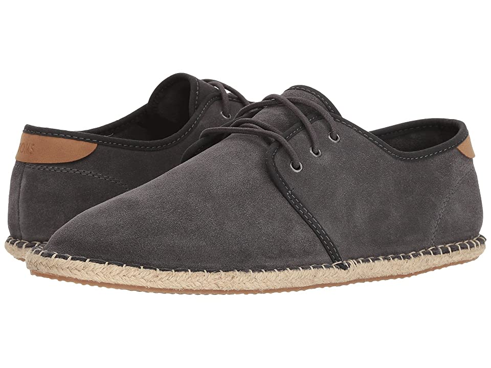 TOMS Diego (Forged Iron Grey Suede) Men