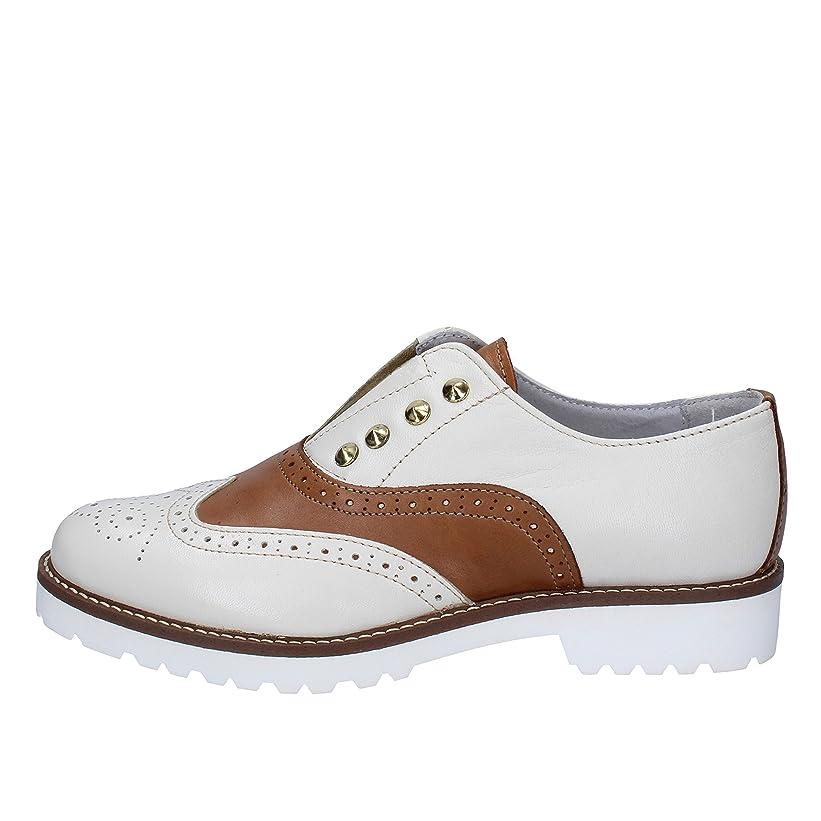収穫経営者子羊[OLGA RUBINI] 古典的な女性の靴 レディース レザー ホワイト