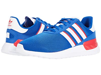 adidas Originals Kids LA Trainer Lite J (Big Kid) (Team Royal Blue/Footwear White/Scarlet) Boys Shoes