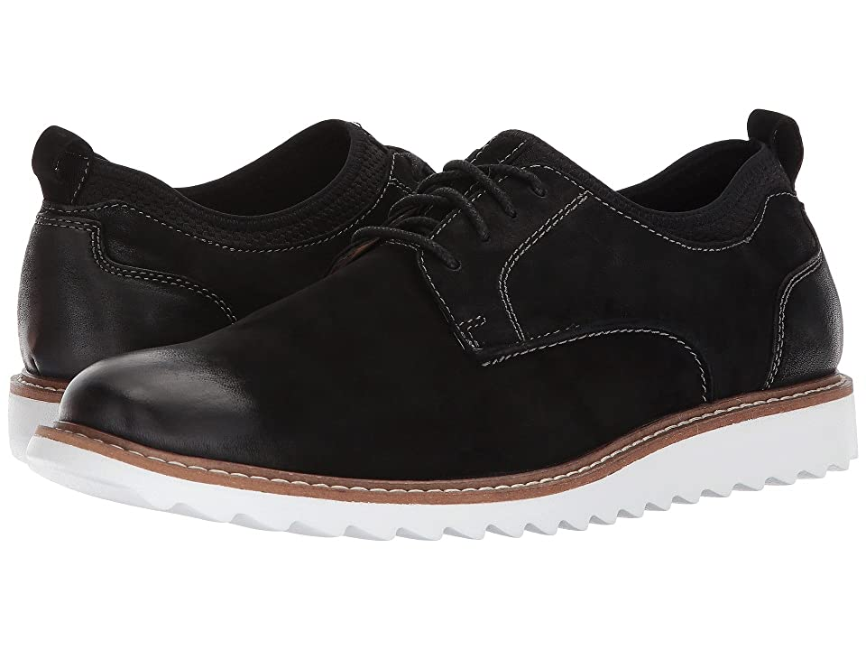 G.H. Bass & Co. Dirty Buck 2.0 Plain Toe Leather (Black Milled Nubuck) Men