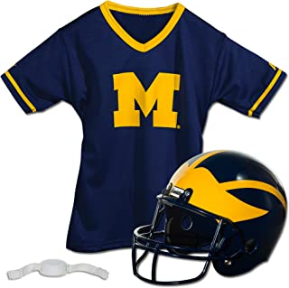 Franklin Sports Kids College Football Uniform Set – NCAA Youth Football Uniform..