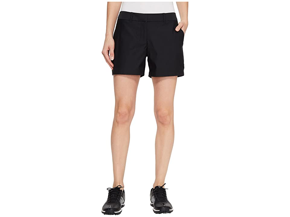 Nike Golf Flex Shorts Woven 4.5 (Black/Black) Women