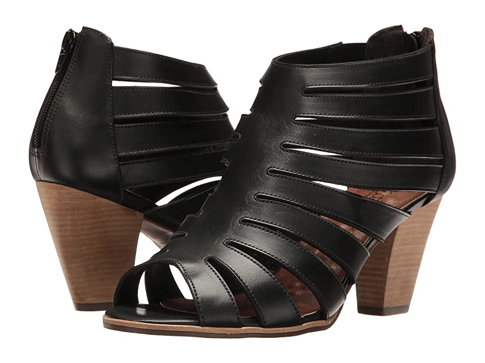 Walking Cradles Geena (Black Soft Maia) High Heels
