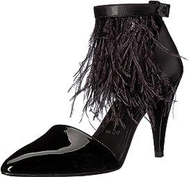 Chaka Feather Heel