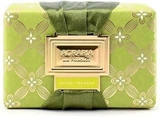 AGRARIA Moisturizing Beauty Lemon Verbena Bath Bar Luxury Bar Soap, 8 Ounce