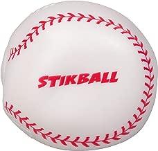 Hog Wild Sticky Baseball - Squishy Stikball Toy Splats and Sticks to Flat Surfaces - Age 4+
