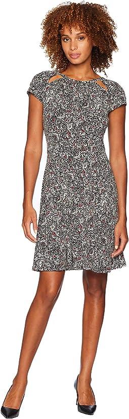 Boho Block Print Dress