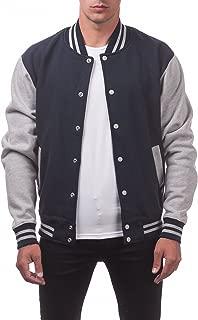 Men's Varsity Fleece Baseball Jacket