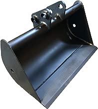 Micro Bagger-Löffel 20cm Tieflöffel Bolzen 30mm Tiefschaufel Baggerschaufel