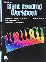 Sight Reading Workbook: Level 2 (Schaum Publications Sight Reading Workbook)