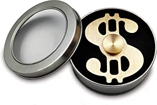 Dollar Hand Fidget Spinner Metal Spinner Toy Focusing Fidget Toys Relievers Stress and Anxiety for Kids & Adults with ADHD Autism