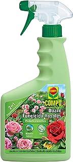 Compo Duaxo Fungicida Rosales, Spray 2 en 1 preventivo y curativo, Apto para jardinería Exterior...